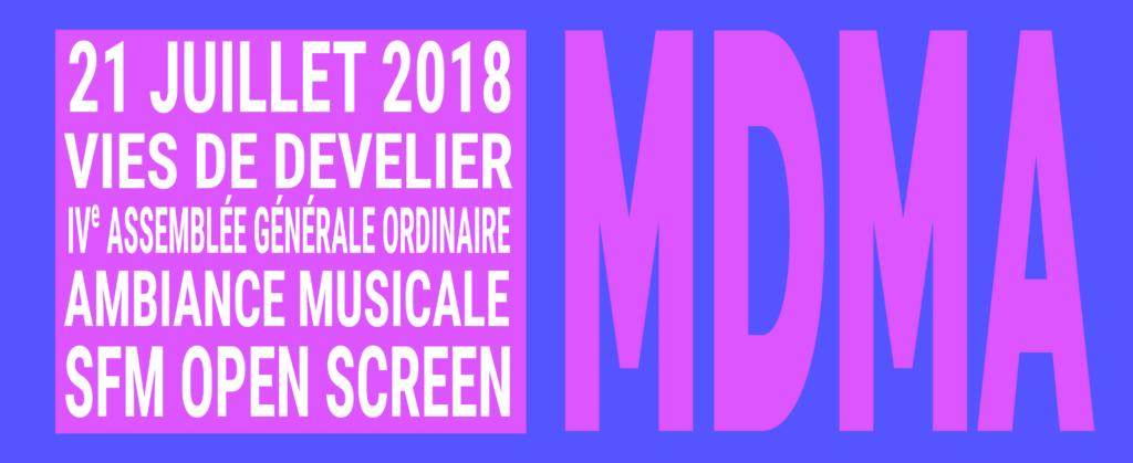 mdma 2018